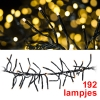 123led Cluster soft led kerstverlichting 192 lampjes warm wit  LKO00038