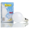 123led E14 led-lamp kogel mat 3.3W (25W)  LDR01223