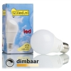 123led E27 Sfeerdim led-lamp peer dimbaar 5.5W (40W)  LDR01225