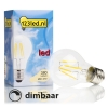 123led E27 filament led-gloeilamp peer dimbaar 4W (40W)  LDR01140