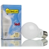 123led E27 led-lamp peer mat 9W (60W)  LDR01177