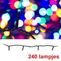 Led Kerstverlichting 240 Lampjes Multi Colour Voor Binnen En Buiten