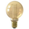 Calex LED E27 Crown Globe G80 Gold dimbaar (3,5W, 1800K, 12 cm lang)