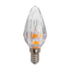 Firelamp Diamond E14+E27 led lamp 2W (transparant)  LFI00205