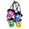 LED decoratie lichtsnoer 4164-500EE multicolor lantaarns (Konstsmide)