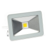 Perel platte design led schijnwerper neutraalwit wit (20W)
