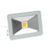 Perel platte design led schijnwerper warmwit wit (20W)  LVE00528