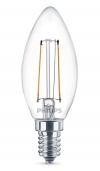 Philips Classic E14 filament led-gloeilamp kaars 2W (25W)  LPH00298