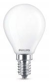 Philips Classic E14 led-lamp kogel mat 4.3W (40W)  LPH00801
