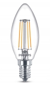Philips E14 filament led-gloeilamp kaars 4W (40W)