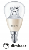Philips E14 led-lamp kogel Dimtone dimbaar 4W (25W)  LPH00389