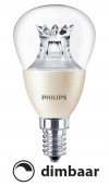 Philips E14 led-lamp kogel Dimtone dimbaar 6W (40W)  LPH00391