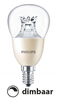 philips e14 led lamp kogel dimtone dimbaar 8w 60w philips. Black Bedroom Furniture Sets. Home Design Ideas