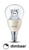 Philips E14 led-lamp kogel WarmGlow dimbaar 6W (40W)  LPH00122