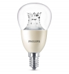Philips E14 led-lamp kogel helder WarmGlow dimbaar 8W (60W)  LPH00531