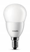 Philips E14 led-lamp kogel mat 4W (25W)  LPH00105