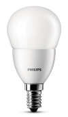 Philips E14 led-lamp kogel mat 5.5W (40W)  LPH00098