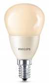 Philips E14 led-lamp kogel mat flame 4W (15W)  LPH00548