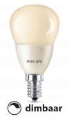 Philips E14 led-lamp kogel mat flame dimbaar 4W (15W)