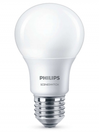 Philips E27 SceneSwitch led-lamp peer mat 8W (60W)  LPH00253