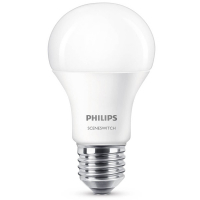 Philips E27 SceneSwitch led-lamp peer mat koel wit 8W (60W)  LPH00254