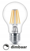 Philips E27 filament led-gloeilamp WarmGlow dimbaar 5.5W (40W)  LPH00612