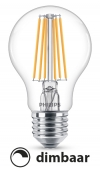 Philips E27 filament led-gloeilamp WarmGlow dimbaar 8W (60W)  LPH00614