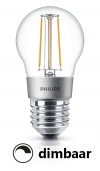 Philips E27 filament led-gloeilamp kogel dimbaar 5W (40W)