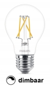 Philips E27 filament led-gloeilamp peer WarmGlow dimbaar 5.5W (40W)  LPH00881