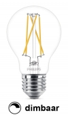 Philips E27 filament led-gloeilamp peer WarmGlow dimbaar 8.5W (60W)  LPH00883