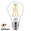 Philips E27 filament led-gloeilamp peer WarmGlow dimbaar CRI>90 9W (60W)