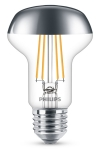 Philips E27 kopspiegel reflector filament led-gloeilamp R63 4W (42W)  LPH00491