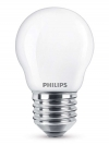Philips E27 led-lamp Classic kogel mat 4.3W (40W)  LPH00803