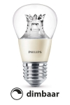 Philips E27 led-lamp kogel helder WarmGlow dimbaar 6W (40W)  LPH00521