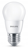 Philips E27 led-lamp kogel mat 7W (60W)  LPH00580