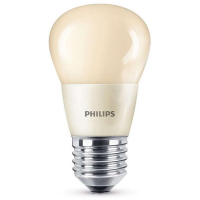 philips e27 led lamp kogel mat flame dimbaar 4w 15w. Black Bedroom Furniture Sets. Home Design Ideas