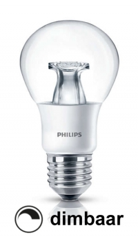 philips e27 led lamp peer helder warmglow dimbaar 6w 40w lph00120
