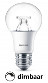 Philips E27 led-lamp peer helder WarmGlow dimbaar 8.5W (60W)