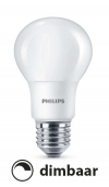 Philips E27 led-lamp peer mat dimbaar 6W (40W)  LPH00377