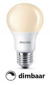 Philips E27 led-lamp peer mat flame dimbaar 8.5W (45W)  LPH00326
