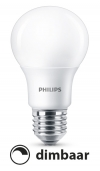 Philips E27 led-lamp peer mat koel wit dimbaar 7.5W (60W)  LPH00642