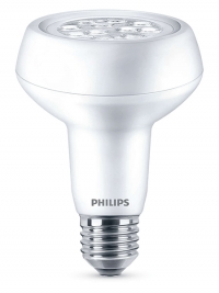philips e27 led l reflector r80 3 7w 60w r80 philips 123led nl