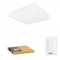 Philips Hue White Ambiance Aurelle slimme plafondlamp vierkant wit incl. dimmer 46.5W  LPH01568