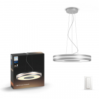 Philips Hue White Ambiance Being slimme hanglamp aluminium incl. dimmer 39W  LPH01577