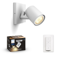 Philips Hue White Ambiance Runner slimme opbouwspot wit incl. dimmer 5W  LPH01537