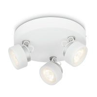 Philips myLiving Rimus opbouwspot wit 3 x 3W  LPH02173