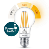 Signify Philips E27 SceneSwitch filament led lamp peer 7.5W (60W)  LPH02501