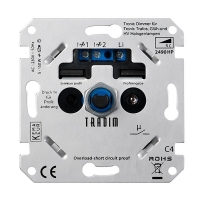 Tradim 2490HP LED tronic dimmer 5-150W (Fase Afsnijding)  LDR04004