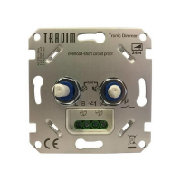 Tradim 2494-K Smart LED duo dimmer 2x 3-100W (Fase Afsnijding)  LDR04020
