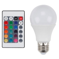 vellight led lamp rgb warm wit met afstandsbediening 75w lve00519